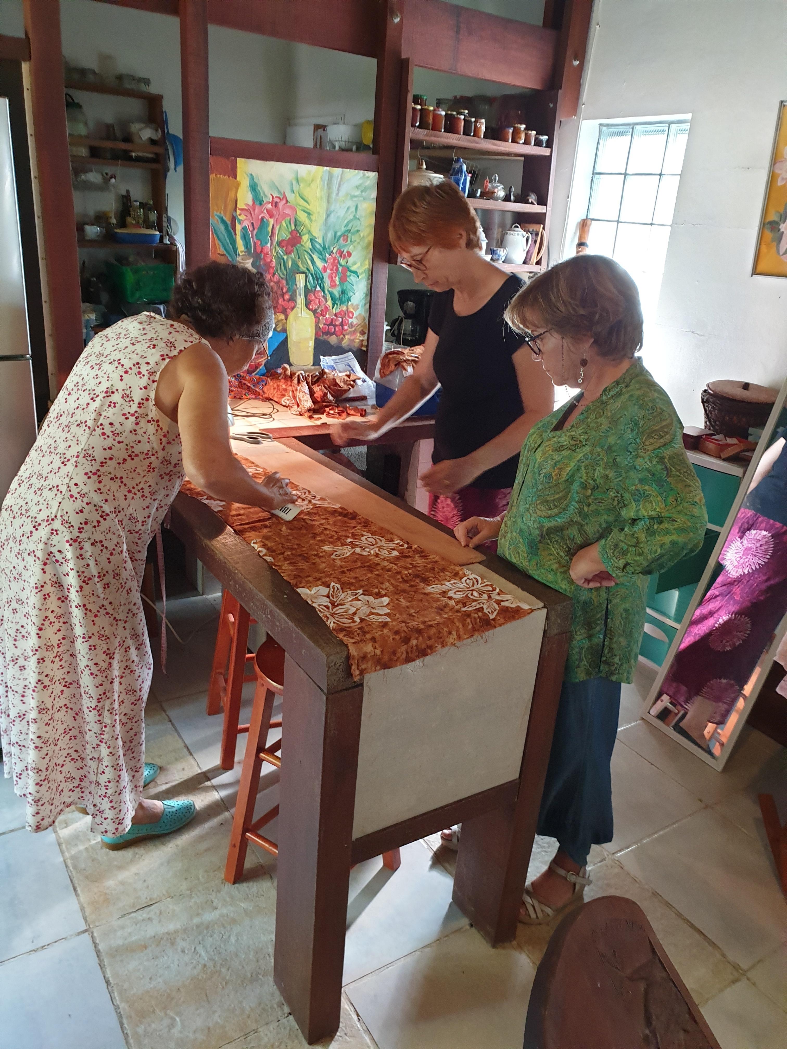 Ouverture des Ateliers Couture et Broderie